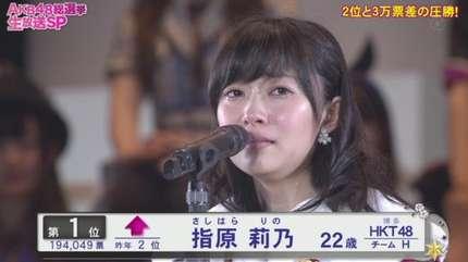 akb48総選挙速報2015、結果は指...
